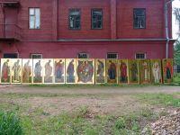 Вид Деисусного ряда в Николо-Угрешском монастыре