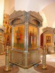 Святой Георгий в киоте