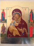 Владимирская с предстоящими избранными святыми