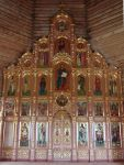 Иконостас Богоявленского храма г. Нарьян-Мара