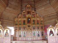 Иконостас в г. Нарьян-Мар