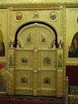 Позолоченные царские врата